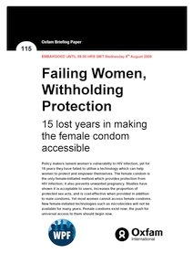 female condom to prevent HIV